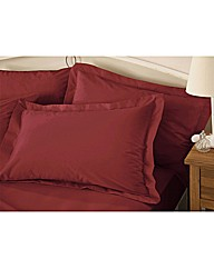 Plain Dyed Percale Oxford Pillowcases