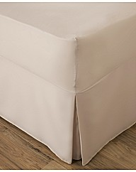 Easy Care Plain Fitted Valance Sheet