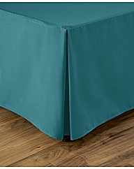 Easy Care Plain Dyed Base Valance