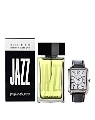 YSL Jazz 100ml EDT & FREE Watch