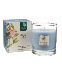 Large Wax Filled Candle Sweet Pea
