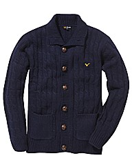 Voi Button Through Knitted Top