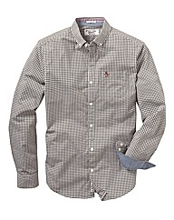 Penguin Long Sleeve Check Shirt