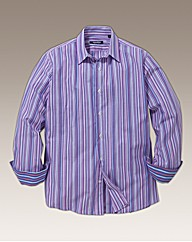 Rogers & Son Pink Stripe Shirt Regular