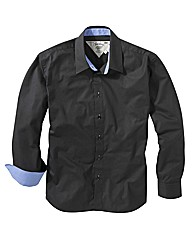 Black Label By Jacamo Party Shirt Long