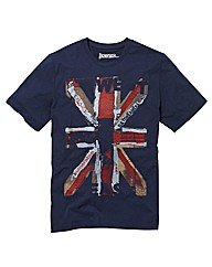 Jacamo Union Jack T-Shirt Long
