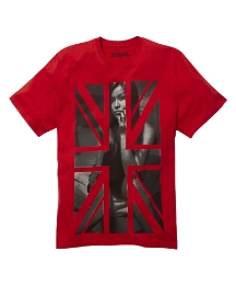Jacamo Union Jack Girl T-Shirt Reg