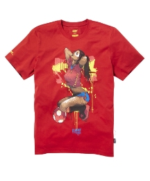 Addict Spain Football Graphic T-Shirt