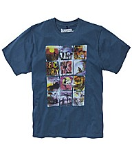 Jacamo Surf Scene T-Shirt Regular