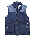 Jacamo Denim Gilet