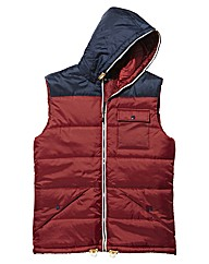Label J Gilet Long