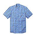 Jacamo Short Sleeve Grandad Shirt Reg