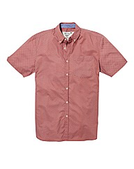 Jacamo Short Sleeve Print Shirt Long