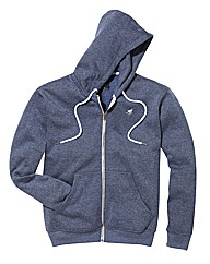 Label J Full Zip Hooded Top Long