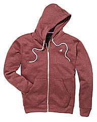 Label J Full Zip Hooded Top Long