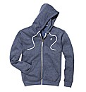 Label J Full Zip Hooded Top Regular