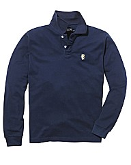 Jacamo Long Sleeve Griffin Polo Regular