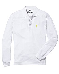 Jacamo Long Sleeve Griffin Polo Long
