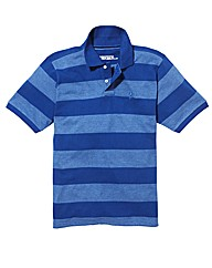 Jacamo Stripe Griffin Polo Long