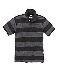 Jacamo Stripe Griffin Polo Regular