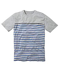 Label J Stripe T-Shirt Long