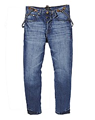 Label J Brace Jeans 33 In Leg Length