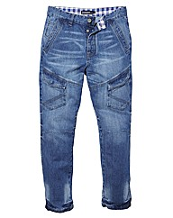 Jacamo Front Pocket Jeans 29 inches