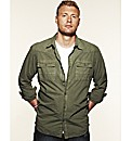 Flintoff By Jacamo Military Shirt Long