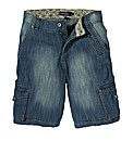 Jacamo Denim Cargo Short