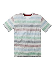 Label J Reverse Stripe T-Shirt Long