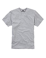 Jacamo Basic V-Neck T-Shirt Long