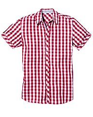 Rogers & Son Short Sleeve Check Shirt L