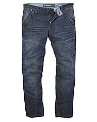 Mish Mash Flume Denim Jeans 33 inches