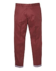 Label J Turn Up Chino 33In Leg Length