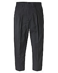Jacamo Single Pleat Trousers 27 inches