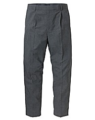 Jacamo Single Pleat Trousers 35 inches