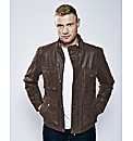 Freddie Flintoff Leather Jacket