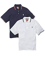 Nickelson Pack of Two Polo Shirts