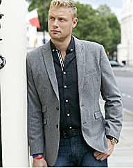Flintoff By Jacamo Tweed Jacket