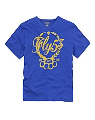 Fly 53 Knuccks Print T-Shirt