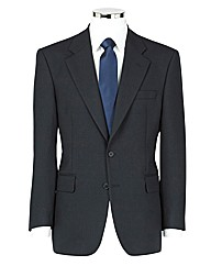 The Label Herringbone Suit Jacket Reg