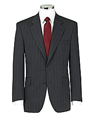 The Label Pinstripe Suit Jacket Regular
