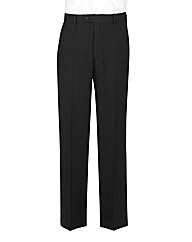 The Label Plain Suit Trousers Long