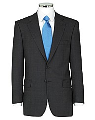 The Label Birdseye Suit Jacket Long