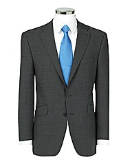 The Label Herringbone Suit Jacket Long