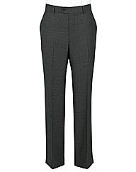 The Label Herringbone Suit Trouser Reg