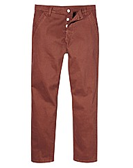 Jacamo Stretch Rust Chinos 29 Inch