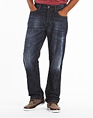 Jacamo Fashion Jeans With Webbed Belt R