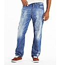 Jacamo Fashion Jeans With Webbed Belt R
