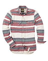 Joe Browns Wanted Stripe Shirt Reg